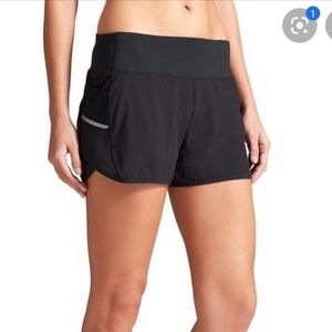 Athleta Black Running Shorts